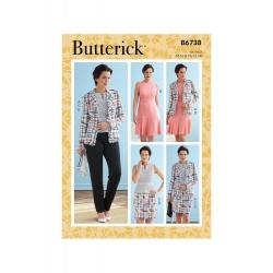Wykrój Butterick B6738A5