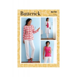 Wykrój Butterick B6740B5