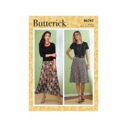 Wykrój Butterick B6743B5
