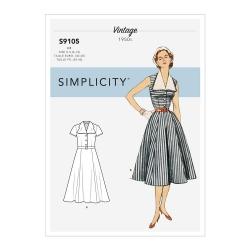 Wykrój Simplicity S9105