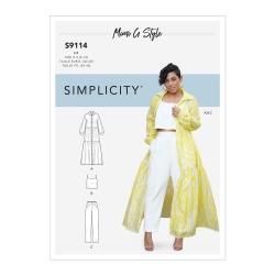Wykrój Simplicity S9114