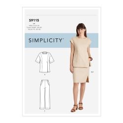 Wykrój Simplicity S9115