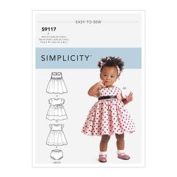 Wykrój Simplicity S9117