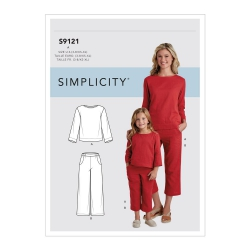 Wykrój Simplicity S9121