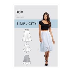 Wykrój Simplicity S9123
