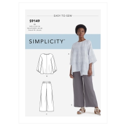 Wykrój Simplicity S9149