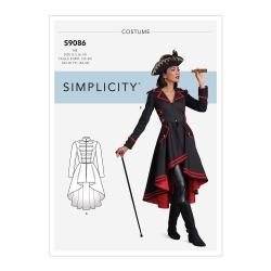 Wykrój Simplicity S9086