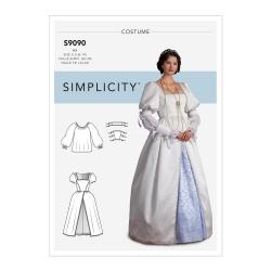 Wykrój Simplicity S9090