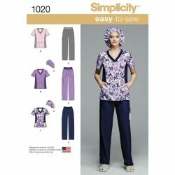 Wykrój Simplicity 1020