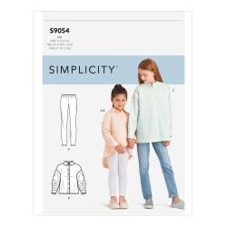 Wykrój Simplicity S9054