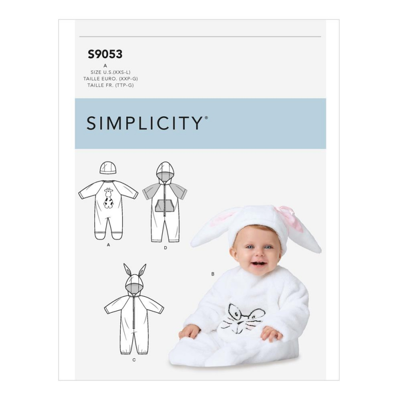 Wykrój Simplicity S9053