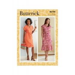 Wykrój Butterick B6758