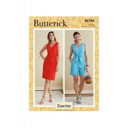Wykrój Butterick B6760