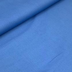Tkanina bawełniana z elastanem niebieska 3