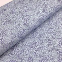 Tkanina bawełniana z elastanem wzór paisley