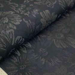 Żakard w kwiaty - bawełniany