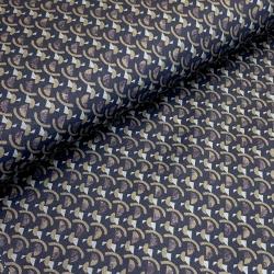 Tkanina bawełniana z elastanem klocki