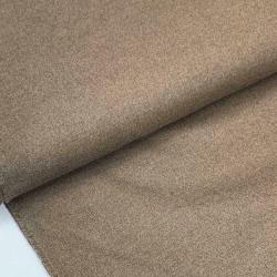 Tkanina bawełniana brązowa