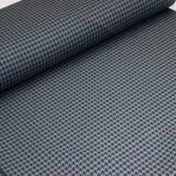 Tkanina bawełniana z elastanem szara pepitka