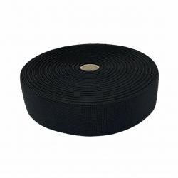 Guma tkana 50 mm czarna