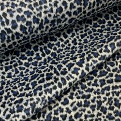 Tkanina płaszczowa - safari - szara