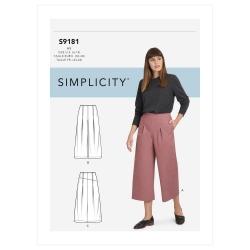 Wykrój Simplicity SS9181