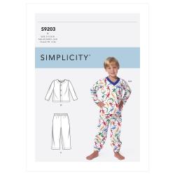 Wykrój Simplicity SS9203