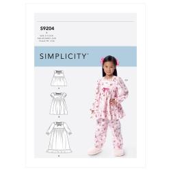 Wykrój Simplicity SS9204