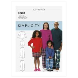 Wykrój Simplicity SS9202