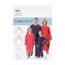 Wykrój Simplicity SS9211
