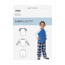 Wykrój Simplicity SS9205