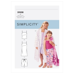 Wykrój Simplicity SS9208