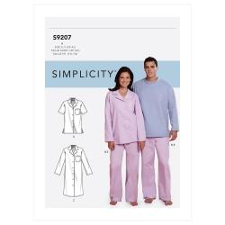 Wykrój Simplicity SS9207