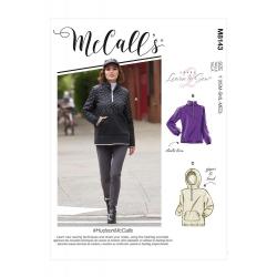 Wykrój McCall's M8143 #HudsonMcCalls