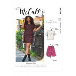 Wykrój McCall's M8160 #AgnesMcCalls