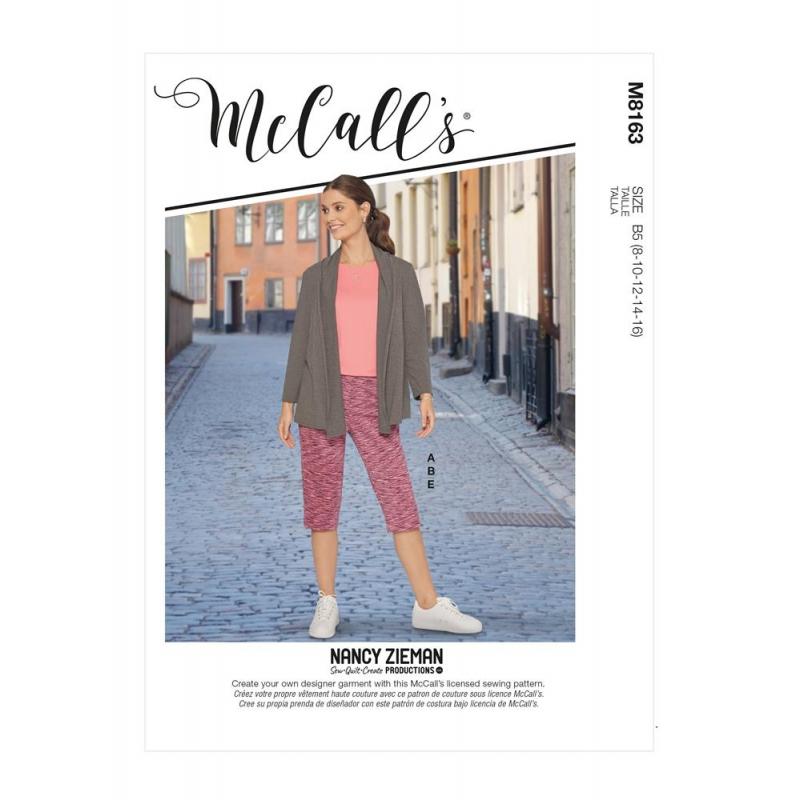 Wykrój McCall's M8163 #Misses'