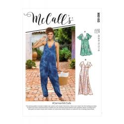 Wykrój McCall's M8165 #CarmenMcCalls
