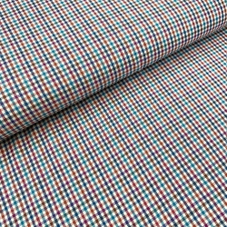 Tkanina bawełniana koszulowa w krateczkę