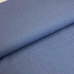 Tkanina bawełniana, flanela niebieska