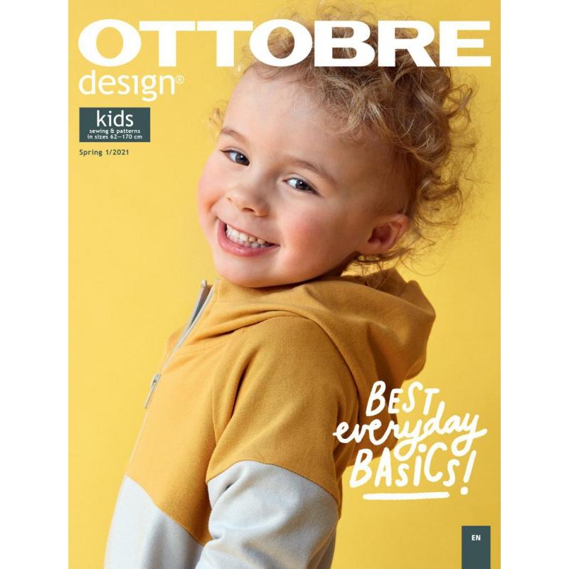 Wykroje Ottobre Kids 1/2021