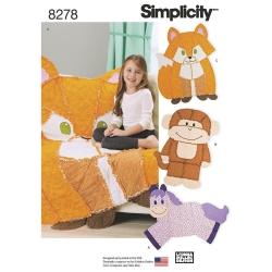 Wykrój Simplicity 8278