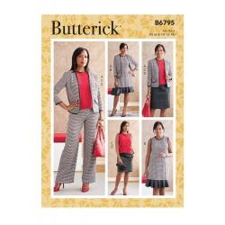 Wykrój Butterick B6795