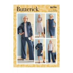 Wykrój Butterick B6796