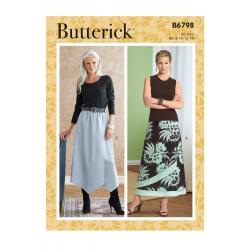 Wykrój Butterick B6798