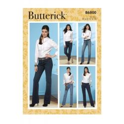 Wykrój Butterick B6800