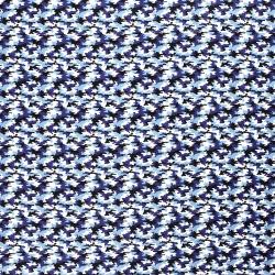 Tkanina bawełniana kamuflaż, moro, niebieski