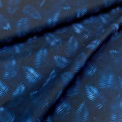 Tkanina wodoodporna liście na granacie