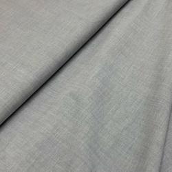 Włoska tkanina bawełniana szary batyst