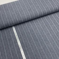 Włoska tkanina bawełniana w paski
