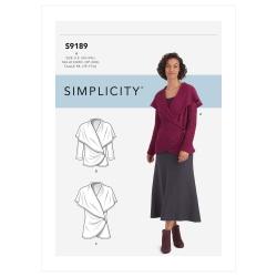 Wykrój Simplicity SS9189